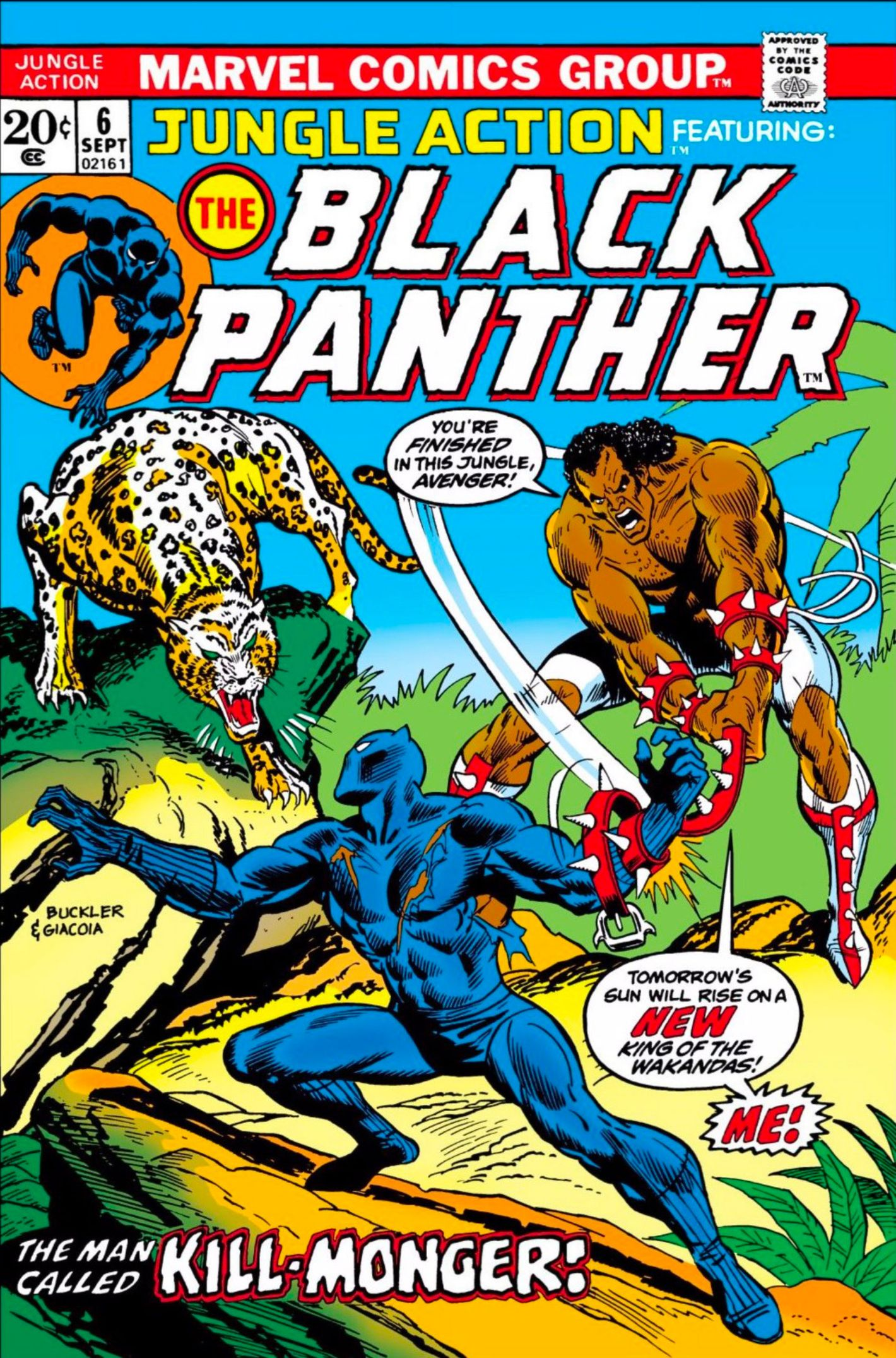 Inside The 1970s Comics Story That Reinvented Black Panther