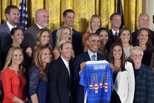 (SP)-US-WASHINGTON-SOCCER-U.S. WOMEN'S NATIONAL SOCCER TEAM