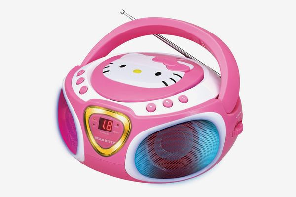 Hello Kitty Light Up CD Player and Radio