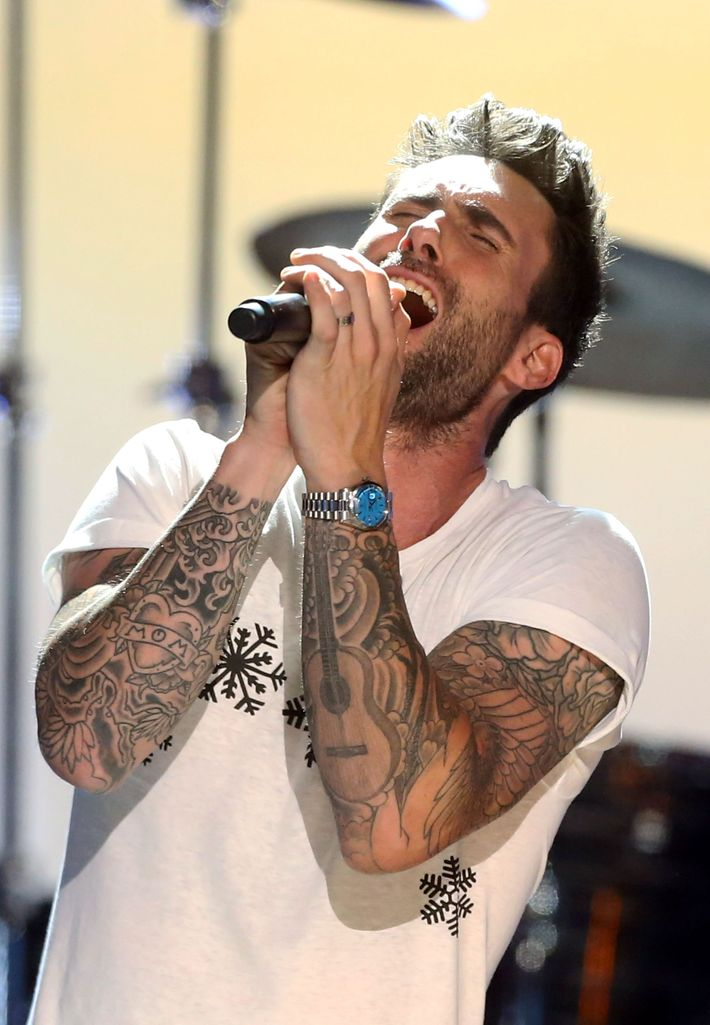 An Exhaustive Taxonomy Of Adam Levine S Tattoos