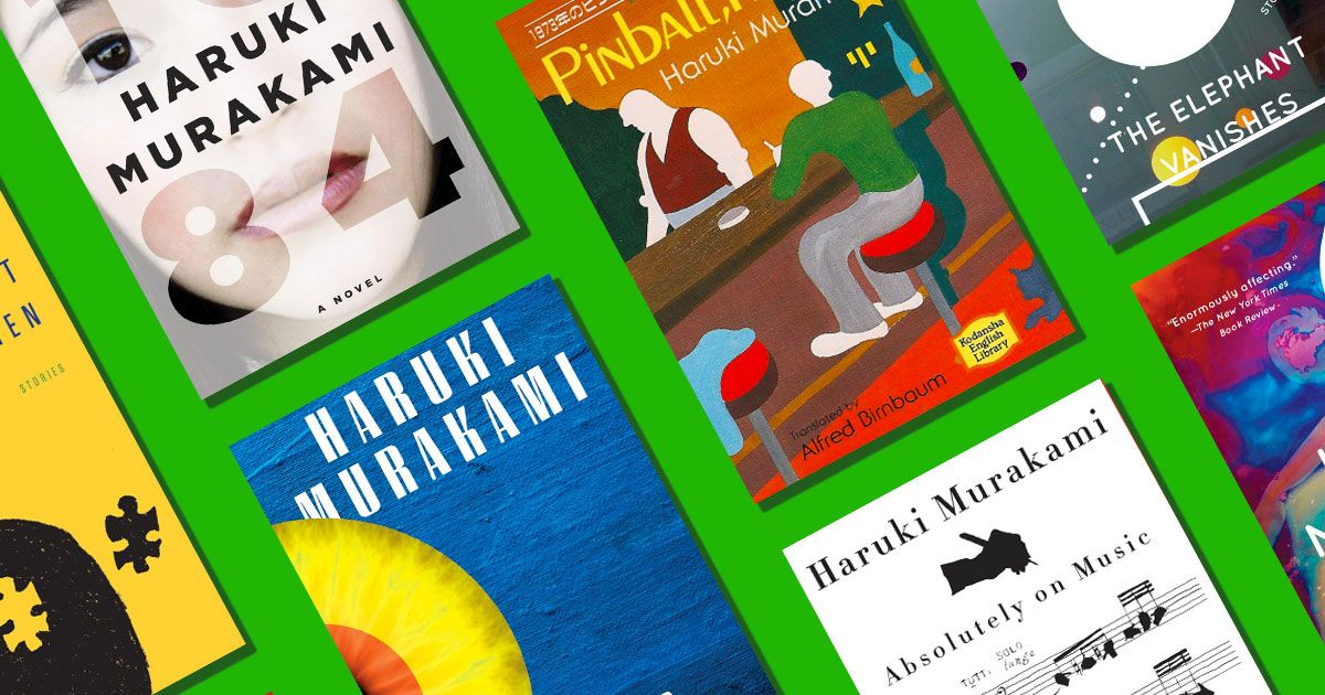 Your Definitive Guide to All of Haruki Murakami's Books