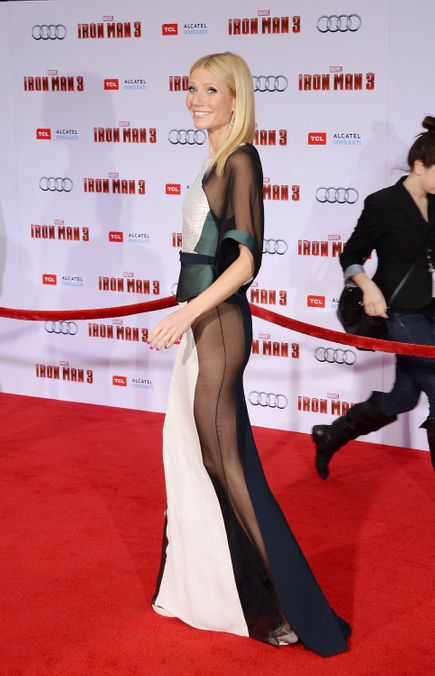 Photo 16 from Gwyneth Paltrow's  Iron Man Sidebutt