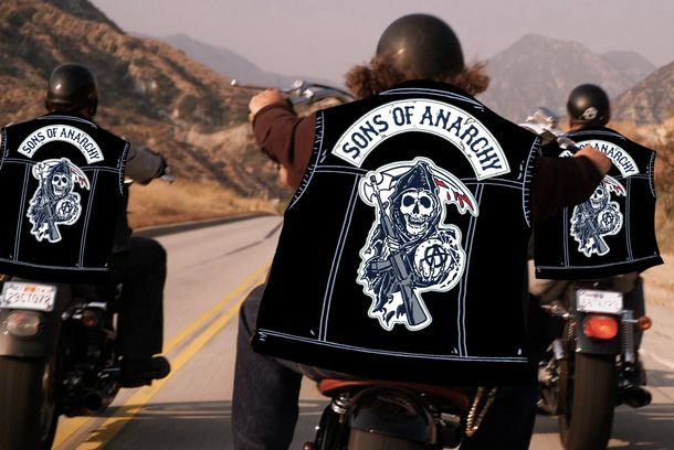 make your own sons of anarchy leather jacket vulture. Black Bedroom Furniture Sets. Home Design Ideas