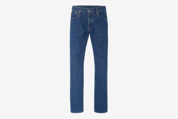 Simon Miller Men's True Blue Mid-Rise Straight-Leg Jeans
