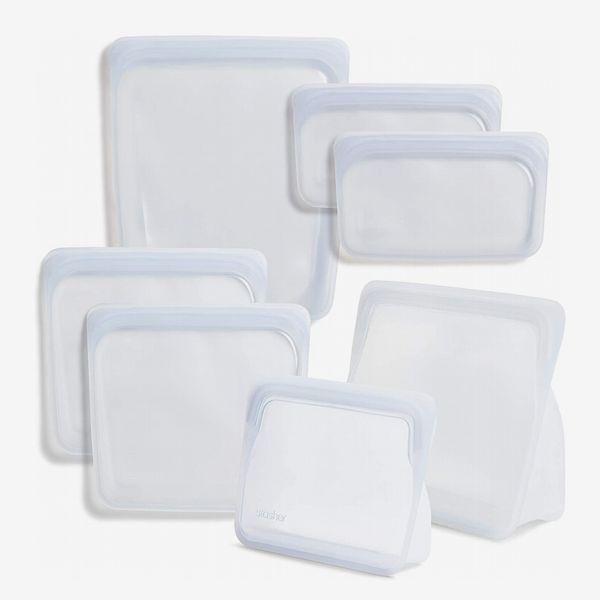 Stasher Reusable Storage Bag 7-Pack Bundle