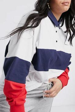 ASOS DESIGN Curve Oversized Polo