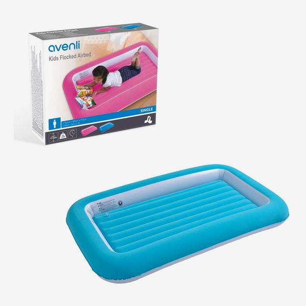 Avenli Single Flocked Childs Air Bed