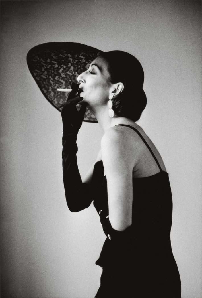 Anjelica Huston, photographed by Alice Springs in 1983.