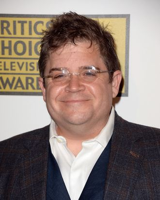 Actor/comedian Patton Oswalt arrives at Broadcast Television Journalists Association's third annual Critics' Choice Television Awards at The Beverly Hilton Hotel on June 10, 2013 in Los Angeles, California)