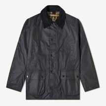 Barbour Ashby Wax Jacket (Navy)