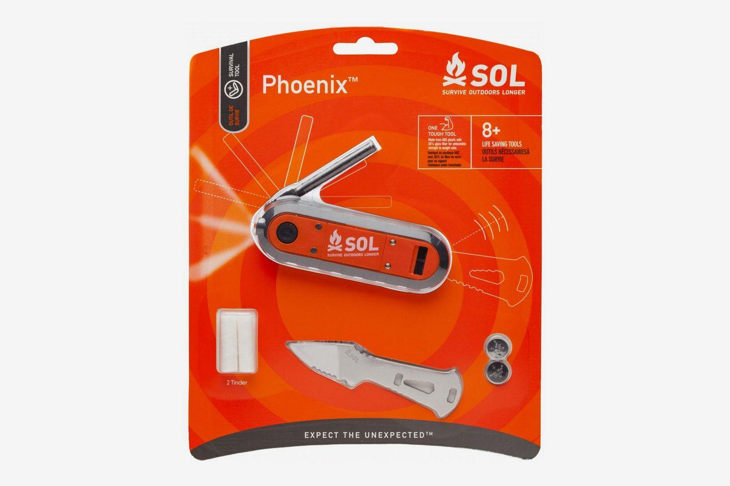S.O.L Survive Outdoors Longer Phoenix Survival Tool