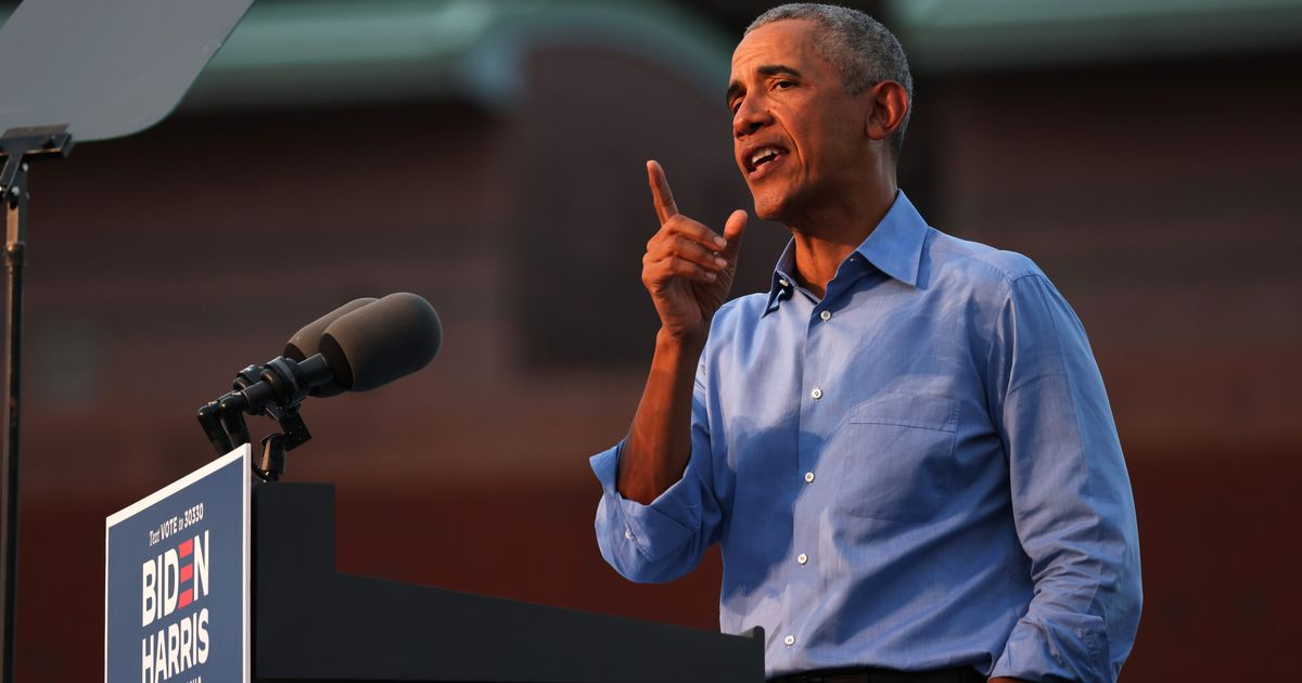 """""""This is not a reality show,"""" Obama said. """"This is reality, and the rest of us have had to live with the consequences of him proving himself incapable of taking the job seriously."""""""