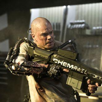 Matt Damon stars in Columbia Pictures' ELYSIUM.