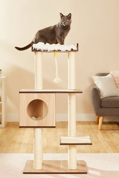 Frisco 47.5-Inch Modern Cat Tree and Condo