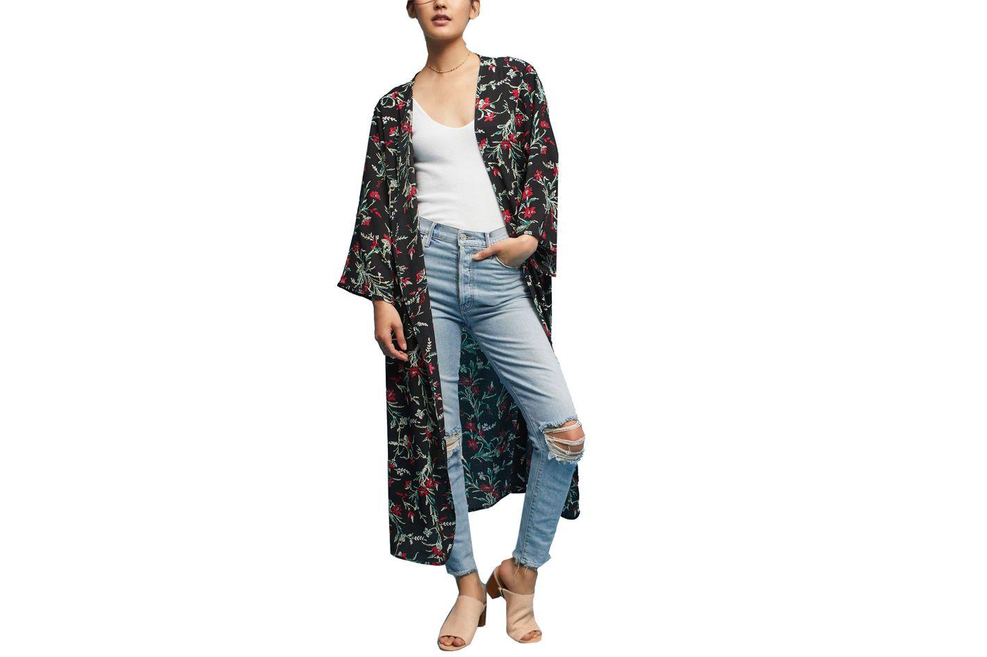 Aster Floral Kimono