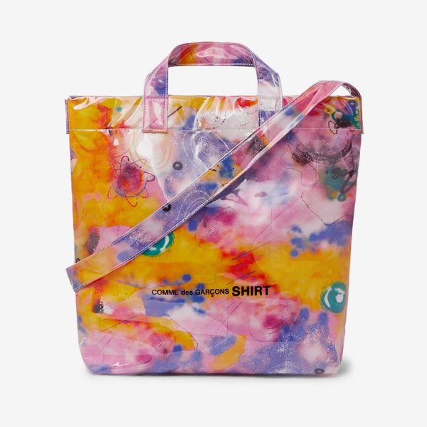 Comme des Garçons Futura Printed PVC-Coated Canvas Tote Bag