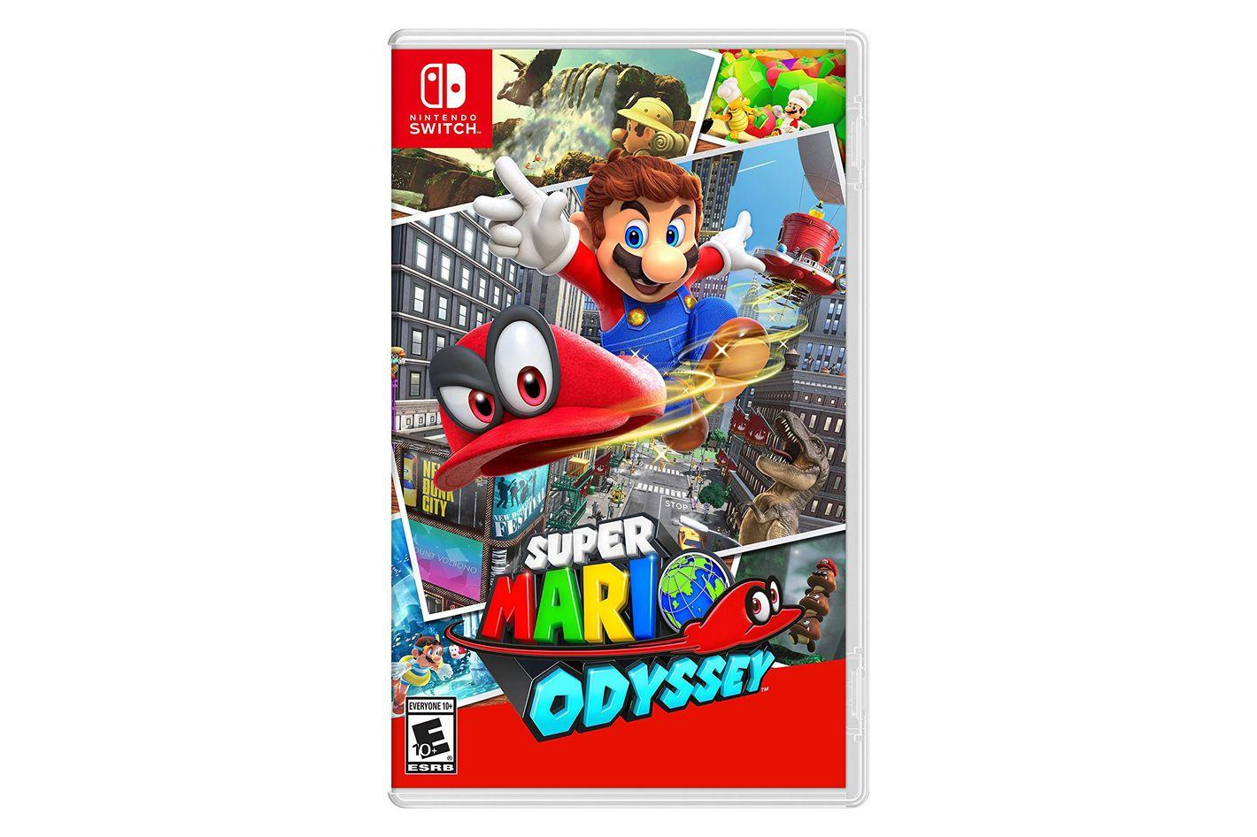 Super Mario Odyssey — Nintendo Switch