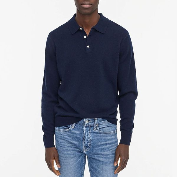 J.Crew Collared Cashmere Sweater