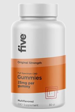 Five CBD Gummies Original Strength, 25 mg