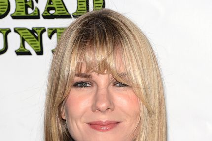 "Actress Lily Rabe attends the ""Dead Accounts"" Broadway opening night arrivals and curtain call at the Music Box Theatre on November 29, 2012 in New York City."