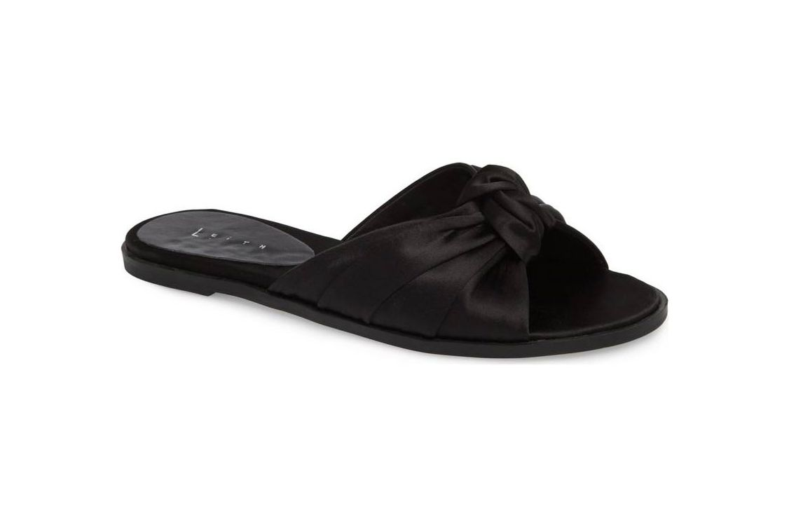 Leith Nevie Knotted Slide Sandal