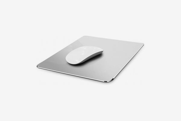 Hard Silver Metal Aluminum Mouse Pad