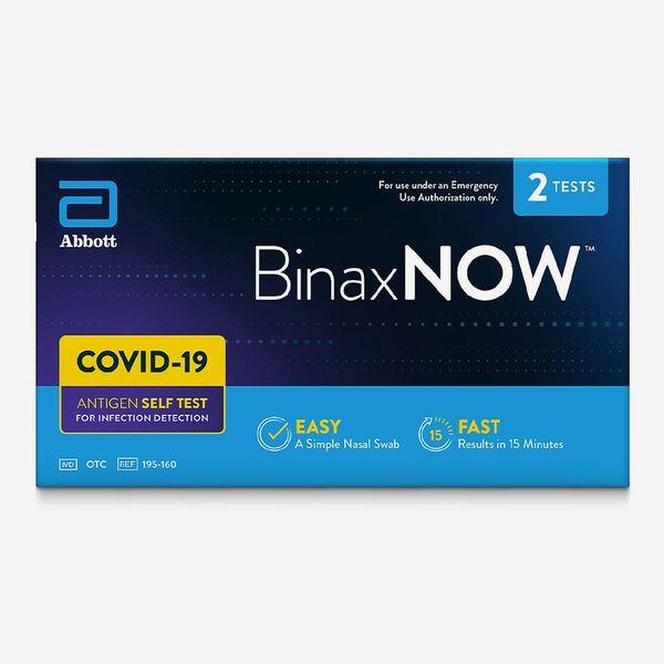 BinaxNOW COVID-19 Antigen Self-Test at Home Kit