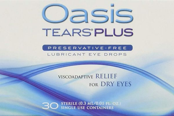 Oasis Tears Plus Preservative-Free Lubricant Eye Drops