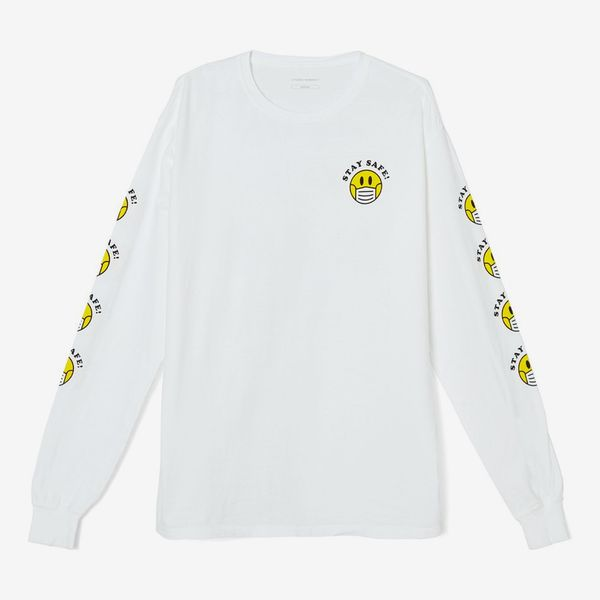 Citizens of Humanity Stay Safe Long-Sleeve T-Shirt