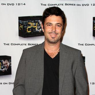 HOLLYWOOD, CA - DECEMBER 02: Actor Carlos Bernard arrives at the FOX Home Entertainment's