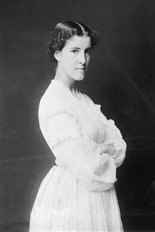 Portrait of Charlotte Perkins Gilman, circa 1896. (Photo by Fotosearch/Getty Images).