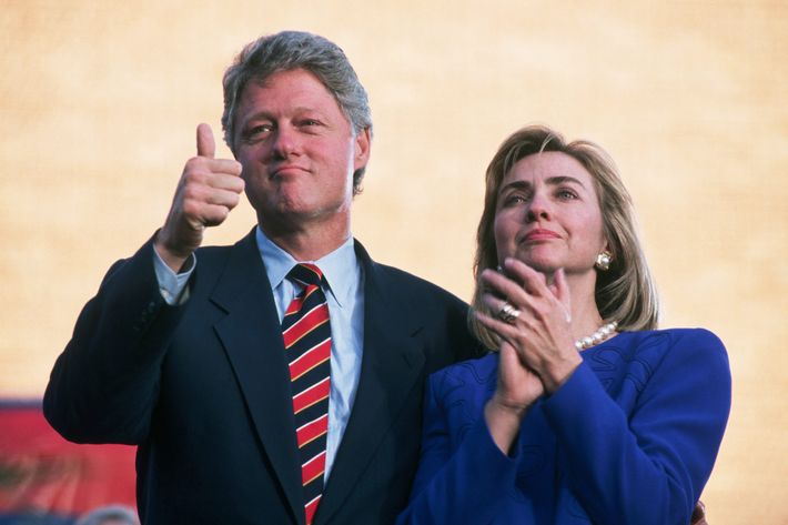 Clintons at Campaign Rally