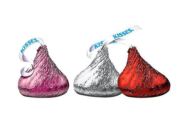 Hershey's Kisses Valentine's Milk Chocolate, 2-Pound Bag (32 Ounce)