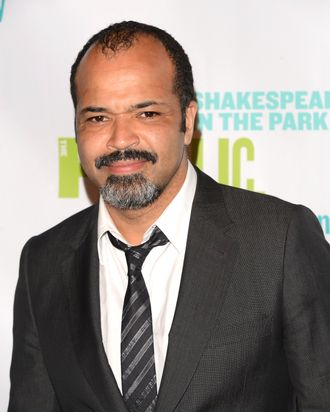 Actor Jeffrey Wright attends the Public Theater 50th Anniversary Gala at Delacorte Theater on June 18, 2012 in New York City.