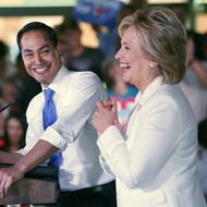 Hillary Clinton Hosts Latinos For Hillary Event In San Antonio