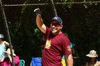EAST HAMPTON, NY - AUGUST 20: Jim Leyritz attends the 63rd annual Hamptons' Artists & Writers charity softball game at Herrick Park on August 20, 2011 in East Hampton, New York. (Photo by Jeffrey Ufberg/Getty Images)