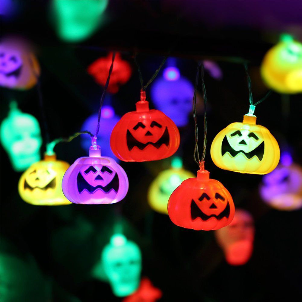 Halloween Pumpkin Lantern Set (2 Packs)