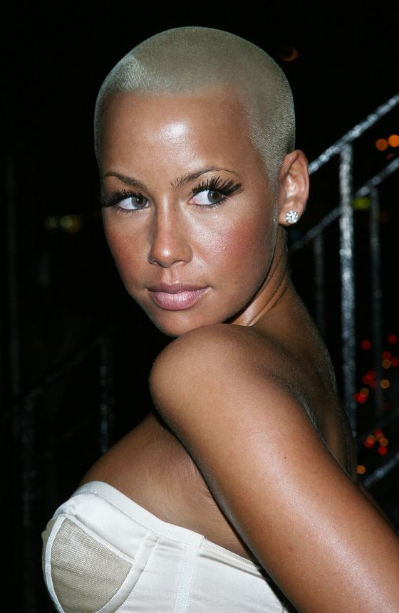 "Kanye West's ex-girlfriend and Wiz Khalifa's current paramour has continually rocked a shaved head for the duration of her public life. Not that the appeal was universal. Kanye, like all bad ex-boyfriends in history, apparently <a href=""http://www.complex.com/music/2011/11/exclusive-amber-rose-responds-to-kanyes-philly-dedication"">once told her</a> he ""didn't like her hair"" and ""didn't like her dress."" After he apologized during a concert, Amber Rose responded, ""He was an asshole. He was. I feel like he gets that now, and he's remorseful about being an asshole to me."""