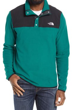 The North Face TKA Glacier Snap Neck Men's Pullover
