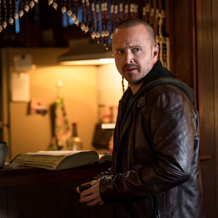 Aaron Paul as Jesse Pinkman in El Camino.
