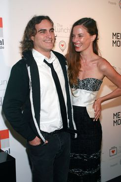 "Joaquin Phoenix, Topaz Page-Green==         The Lunchbox Fund Fall Fete and ""Feedie"" App Launch==         Buddakan, NYC.==         October 09, 2013==         ?Patrick Mcmullan==         photo-Sylvain Gaboury/PatrickMcmullan.com==         =="