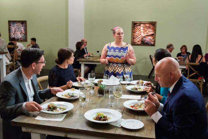 If there's one thing diners love, it's being lectured about their food.