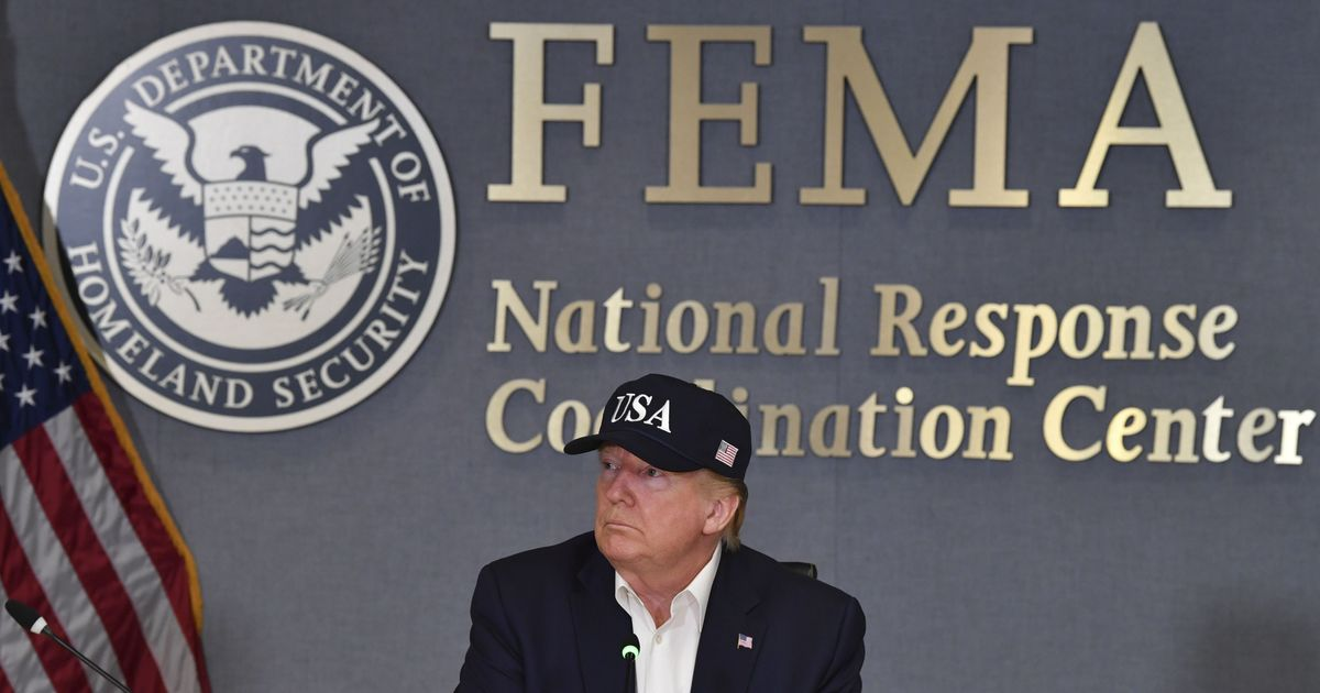 Trump 'Not Sure' He's Even Heard of a Category 5 Hurricane