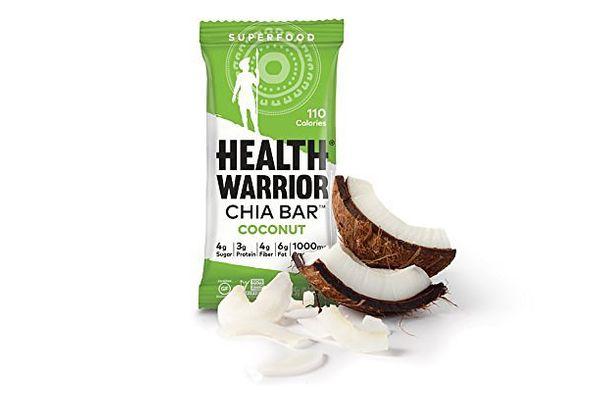 Health Warrior Chia Bars, Coconut, Gluten Free, 15 Count
