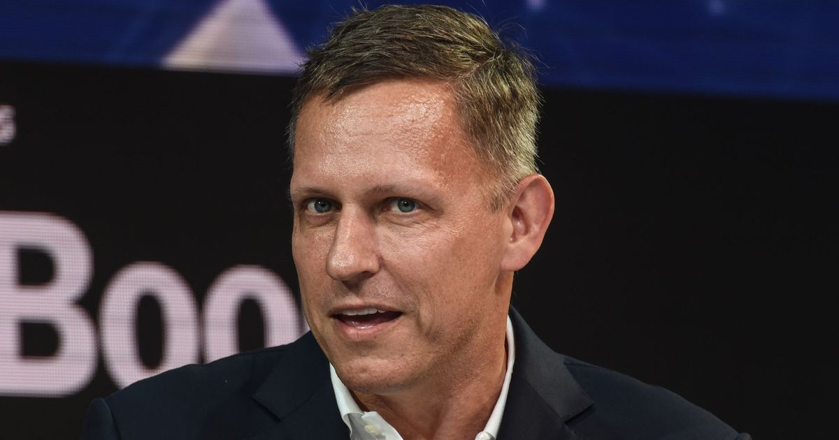 Peter Thiel Makes a Nakedly Political Play in the Times