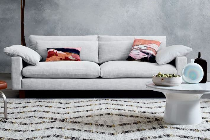 West Elm Harmony Down-Filled Sofa