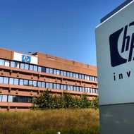 This photo taken on July 19, 2005 shows the headquarters of US information technology giant Hewlett-Packard (HP), on September 8, 2005 in Brussels. According to union sources 5,700 posts at Hewlett-Packard across Europe will be made redundant in 2009-2010.