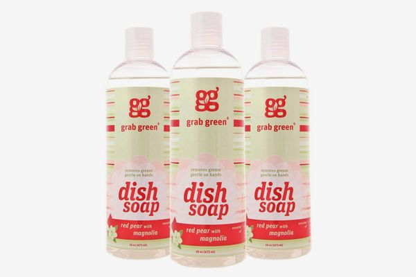 Grab Green Naturally-Derived, Biodegradable Liquid Dish Soap