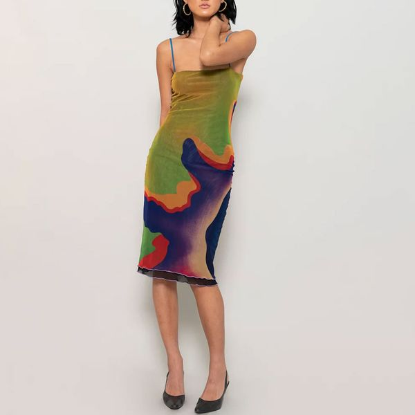 X-Heeyajenny 2 Way Mesh Dress