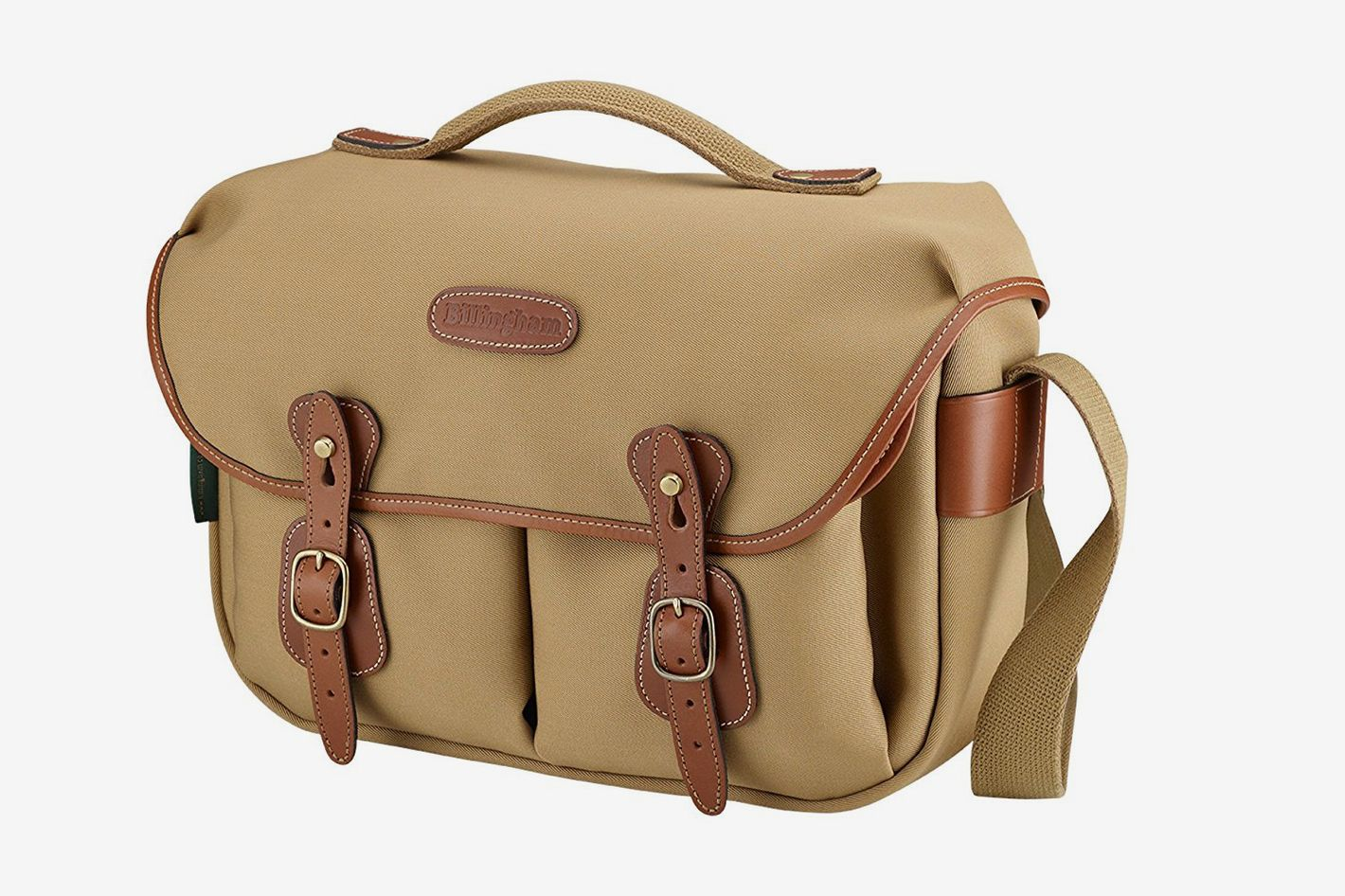 Billingham Hadley Pro Shoulder Bag (Khaki/Tan)